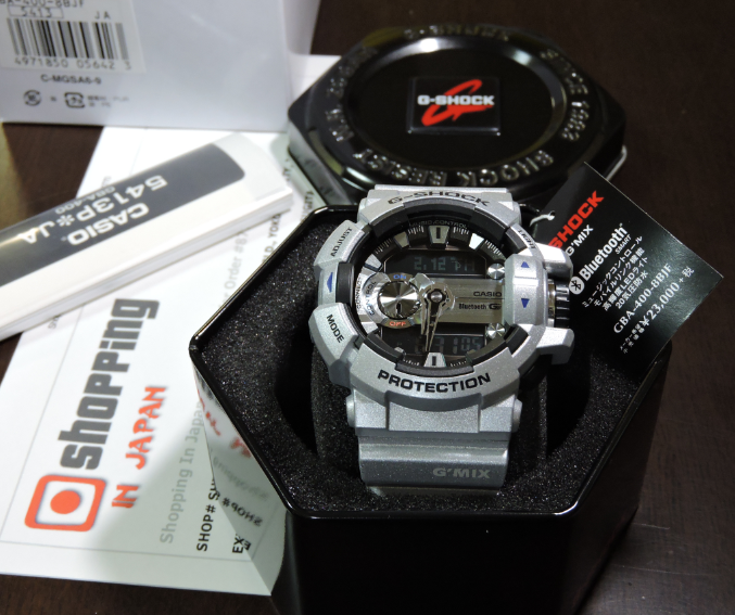 aeaeeb850ec Casio G-Shock G Mix GBA-400-8BJF Bluetooth - Shopping In Japan .NET